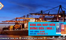 Khóa đào tạo nghiệp vụ hàng hóa nguy hiểm đường biển IMDG