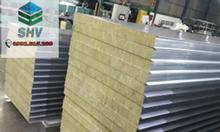 Tấm vách Panel Rockwool chống cháy giá rẻ tại Bình Dương