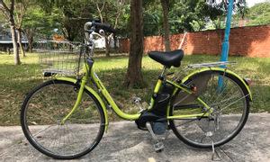 Xe đạp trợ lực thể thao Panasonic - Yamaha - hàng Nhật cũ
