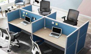 6 lý do nên sử dụng vách ngăn cho bàn làm việc