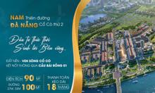 Bán lô lk 20 dự an nam Đà Nẵng, diện tích 110m, sổ đỏ lâu dài