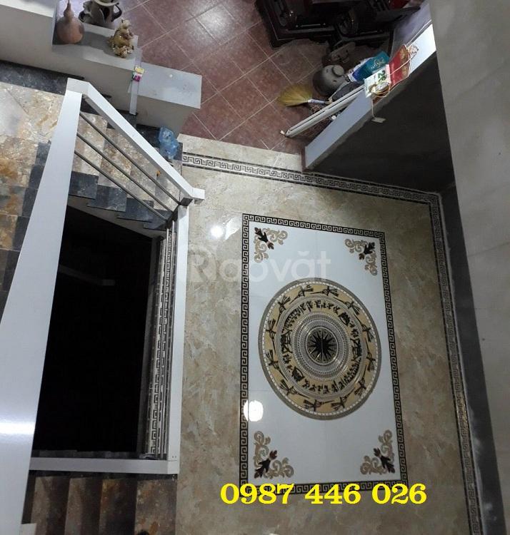 Gạch thảm sàn trống đồng lát sàn trang trí HP6890