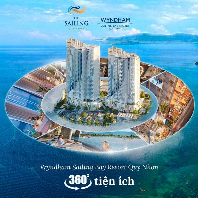 Booking căn hộ 5 sao ngay quảng trường biển Quy Nhơn