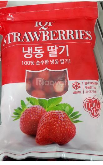 Sản phẩm dâu tây cấp đông đến từ Hàn Quốc