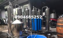 Máy lọc rượu công suất lớn, máy lọc khử độc rượu 500l/h