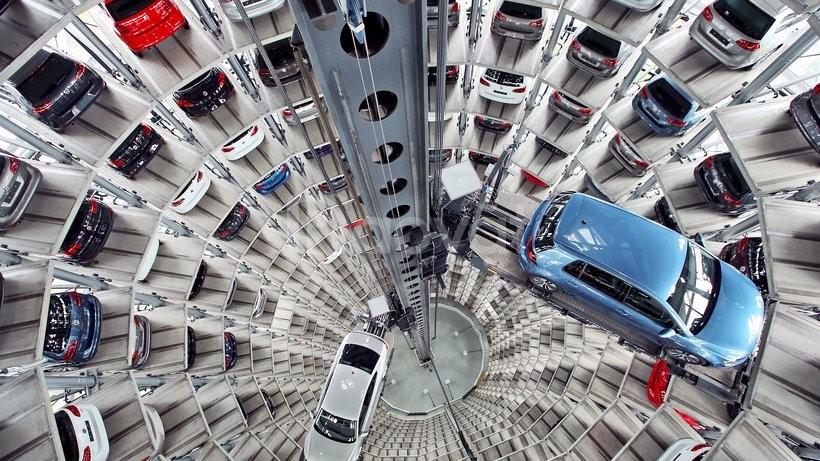 Bãi đỗ xe ô tô thông minh tại Việt Nam, cầu nâng đỗ xe gia đình