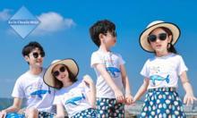 Đồng phục gia đình đi biển