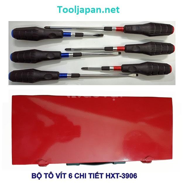 Bộ tô vít 6 chi tiết Anex Nhật Bản HXT-3906