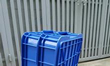 Thùng nhựa cao 10cm, thùng nhựaHS025