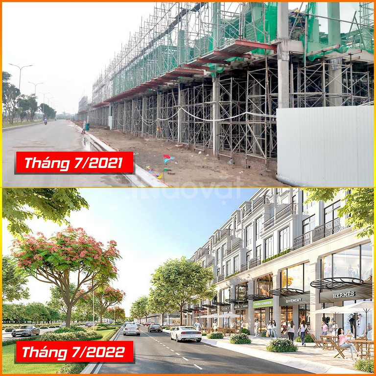 Bán lô cạnh góc lk 31-24 dự án Hinode Royal Park Kim Chung Di Trạch