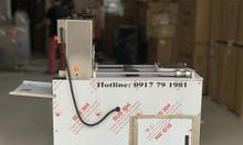 Máy thái thịt đông lạnh công nghiệp lát mỏng 2 cuộn