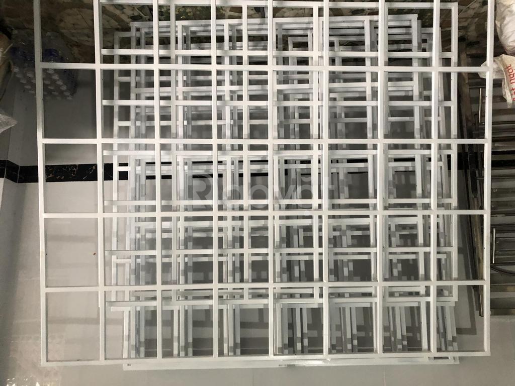 Nhận làm khung sắt bảo vệ cửa sổ