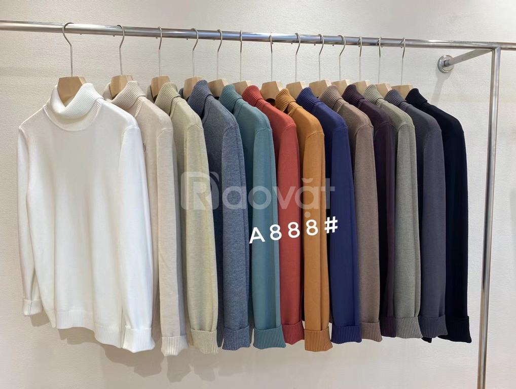 Tổng kho bán buôn áo len nam tại Hà Nội