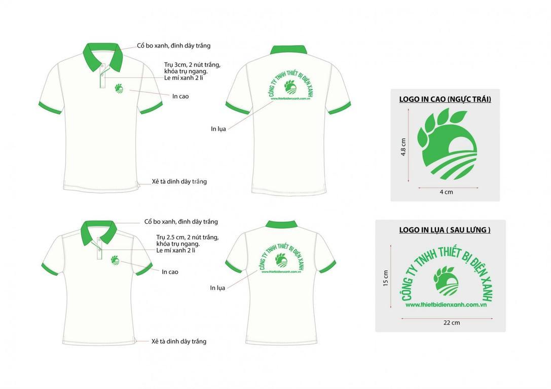 Thiết kế gia công áo thun công nhân TPHCM