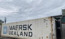 Container lạnh 40 feet mới về bãi chứa hàng nông lâm thủy hải sản