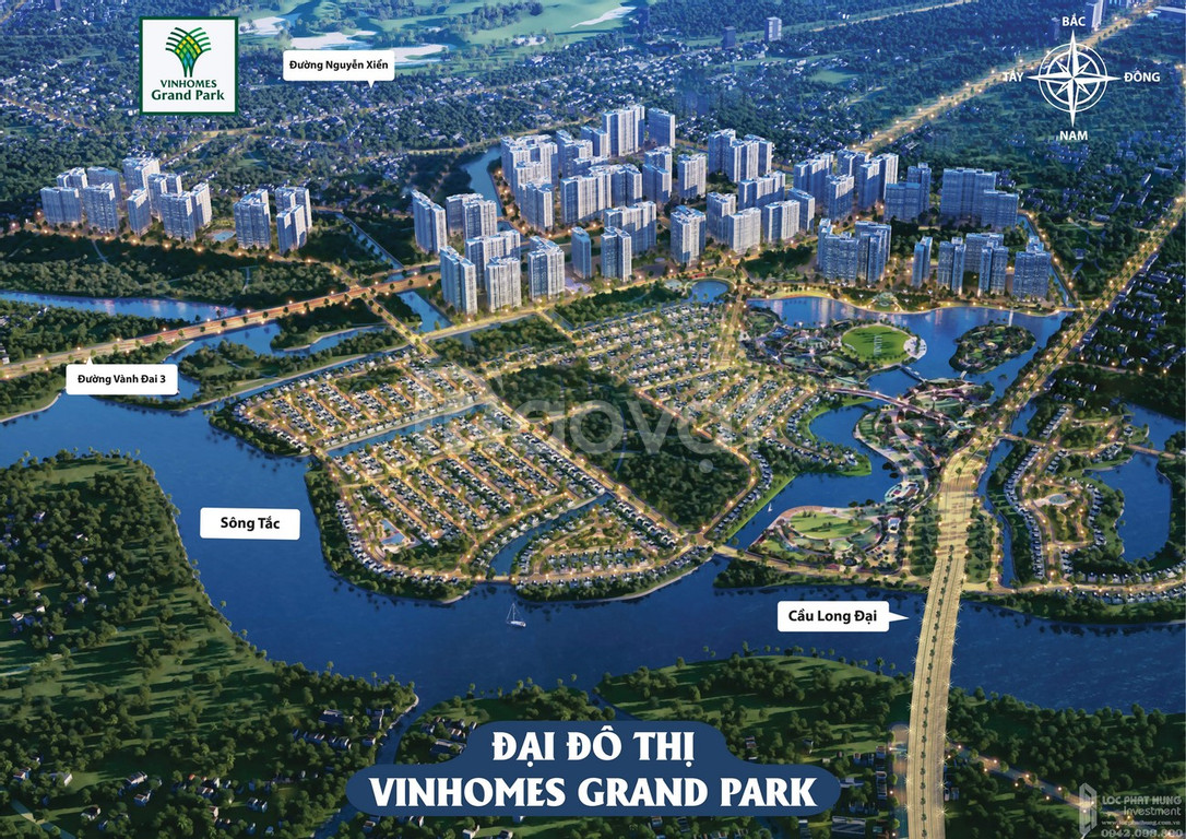 Chỉ cần 50 triệu sở hữu ngay căn hộ ngay trung tâm Vinhomes Grand Park