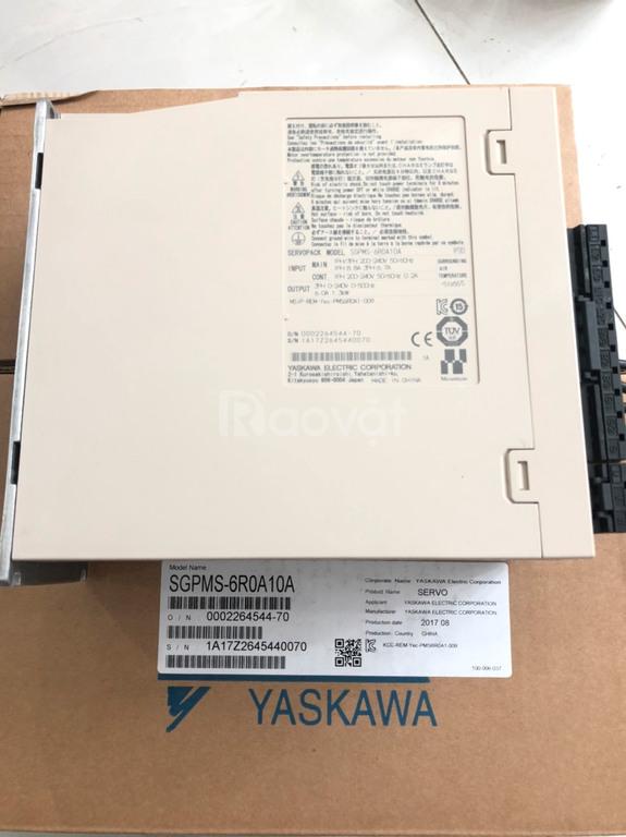 Bộ điều khiển Yaskawa (SGPMS-6R0A10A) mới chính hãng giá rẻ