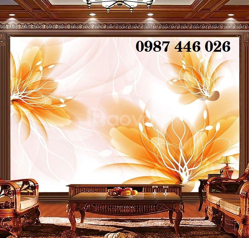 Gạch tranh hoa 3d phòng khách HP7900