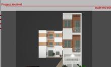 Bán nhà 3 lầu, 4 căn. DTS 275m2,17/đường 13, P.Linh Xuân, TP Thủ Đức