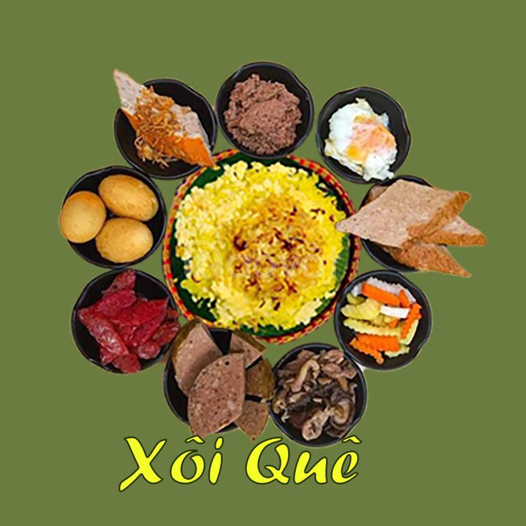 Xôi truyền thống ngon Hà Nội