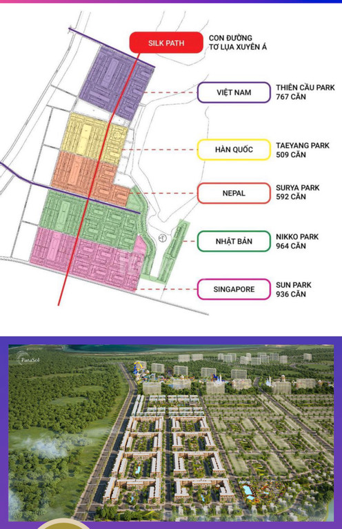 Biệt thự Gofl view biển Nha Trang, chiết khấu 16% vay 20 năm