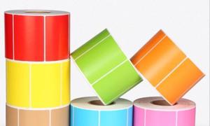 In ấn nhãn mác decal dán cuộn, tờ