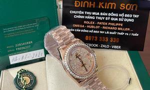 Địa chỉ thu mua đồng hồ Rolex cũ chính hãng Patek Philippe, Hublot