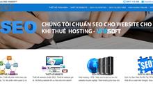 Bảng giá hosting SSD của VinaSoft