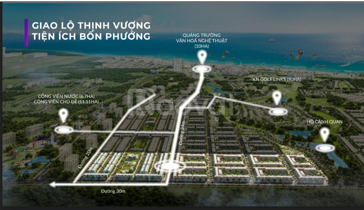 Shophouse cạnh sân gofl biển Nha Trang, lâu dài ck16%