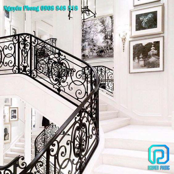 5 tips khi chọn cầu thang sắt mỹ thuật để ngôi nhà trở nên sang trọng