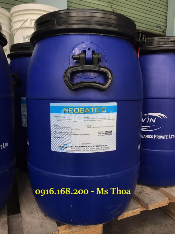 Neobate C - Enzyme xử lý nước, giảm nhớt bám bạt ao nuôi