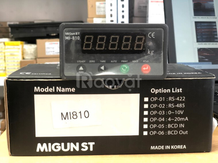 Đầu cân Migun MI810