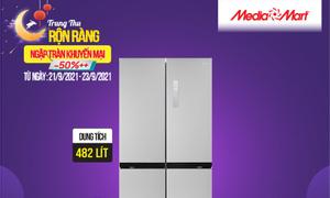 Tủ lạnh SBS Midea 482 lít