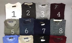 Xưởng áo len nam tìm đại lý bỏ sỉ