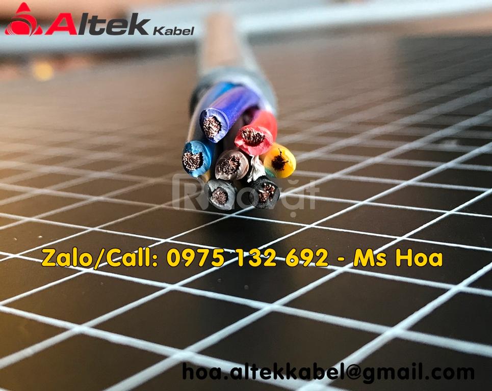 Cáp tín hiệu 7x1.5, cáp điều khiển 7x1.5 Altek Kabel