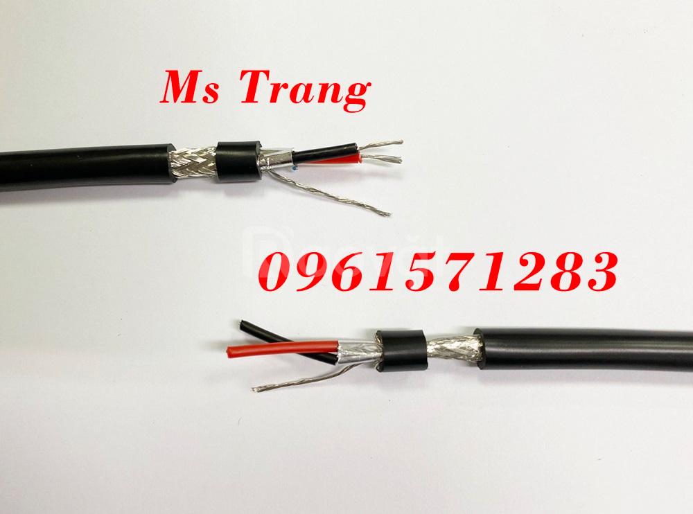 Cáp tín hiệu RS485 quy cách 2x0.35