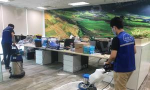 Dịch vụ giặt thảm văn phòng TPHCM