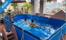 Bể bơi mini cho bé, món quà cho bé yêu trong ngày hè