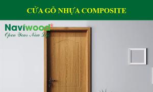Cửa gỗ nhựa composite cách âm, chịu nước