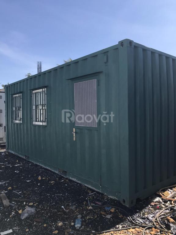 Bàn giao cặp container văn phòng 20 feet cho khách hàng