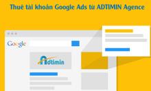 Cho thuê tài khoản Google ads uy tín chạy Google Shopping