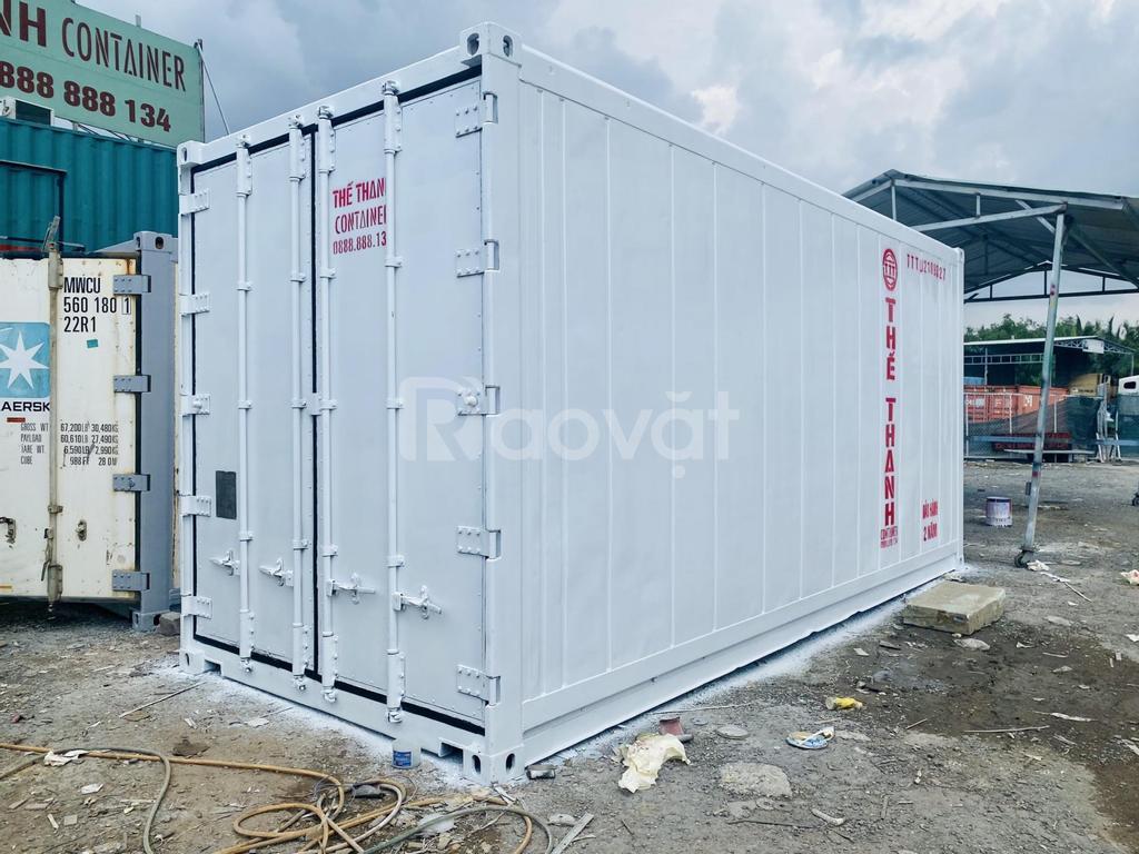 Bán container lạnh bảo quản rau tươi
