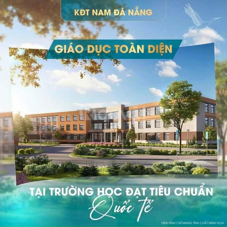 Bán lô góc lk 18 diện tích 125m khu đô thị nam Đà Nẵng hướng đông nam