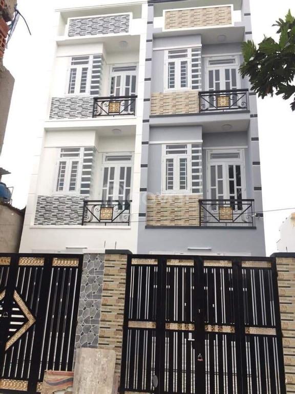 Bán nhà q12 phường Hiệp Thành gần ngã tư ga