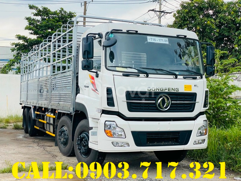 Bán xe tải Dongfeng 4 chân 17T9 Hoàng Huy