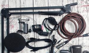 Bộ Livestream cao cấp Soundcard alctron U16k KM3 và Mic Takstar SM8