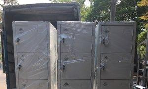 Tủ sắt 6 ngăn với nhiều tùy chọn dành cho khách hàng