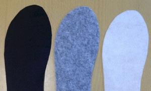 Vải felt làm lót giày thể thao