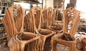 Đồ gỗ nội thất Phương Đông chuyên cung cấp khung ghế