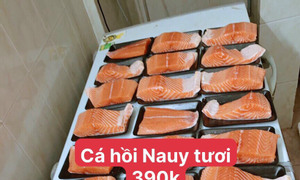 Sỉ lẻ thịt cá nhập khẩu (heo, bò, gà, cá)
